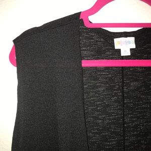 Solid Black Joy, Crepe, BNWT LuLaRoe XL